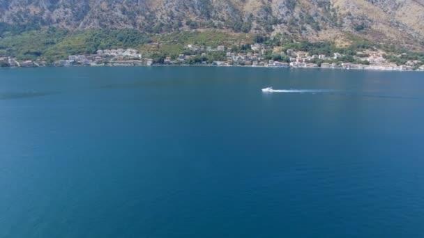 Letecké Panorama zálivu Boka Kotorská, Černé hory 1