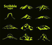 Logo of mountains