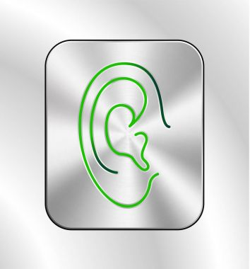 Ear lines icon