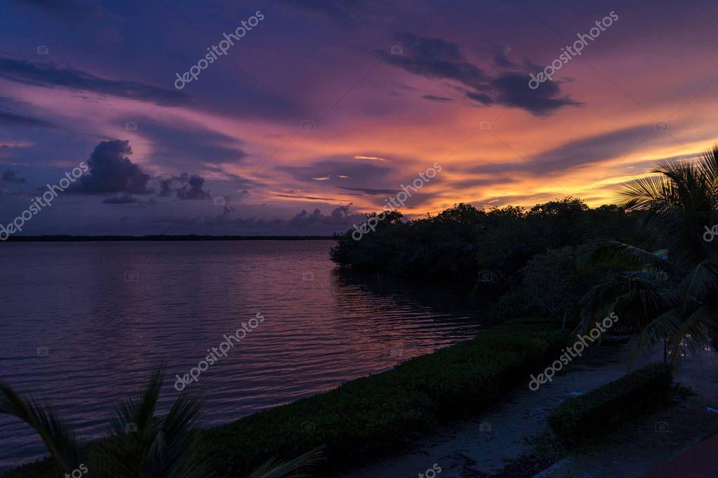 Breaking Dawn in the Caribbean