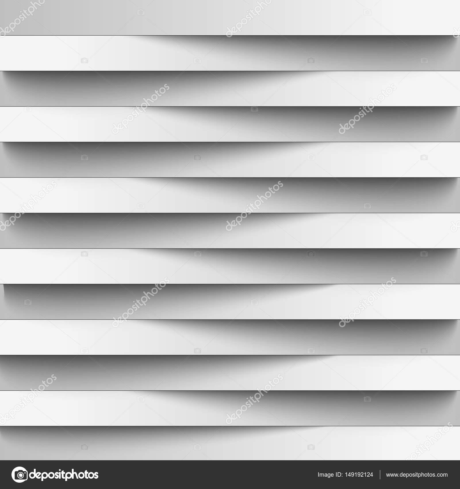 Infografiken. Hintergrund, Streifen Tapete Für Webdesign Aus Realistischen  Papier Schattierung. Lichtlinien. Weiße Farbe In Kombination Mit Grau.