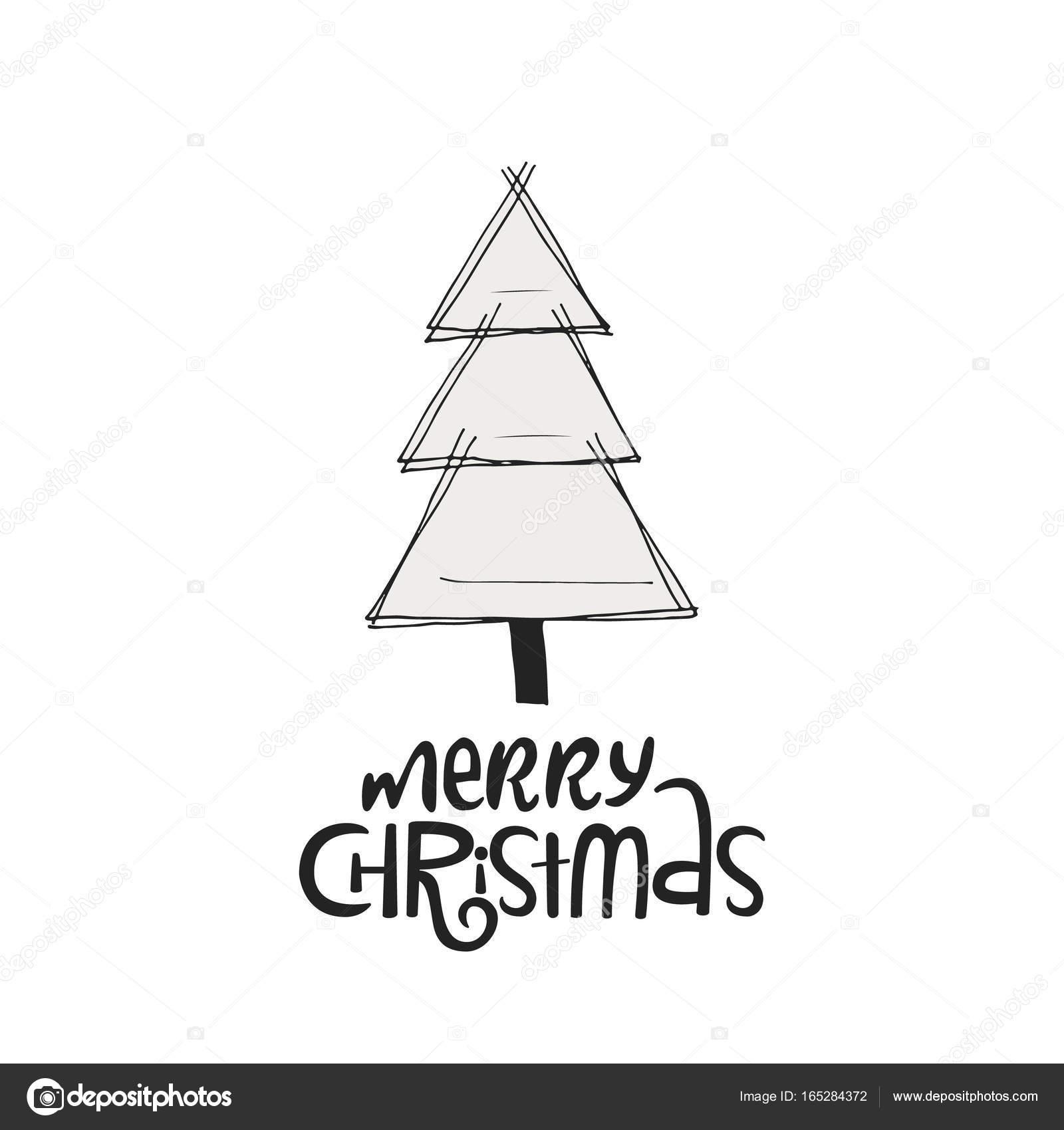 Frasi Albero Di Natale.Buon Natale Con L Albero Di Natale Lettere Di Natale