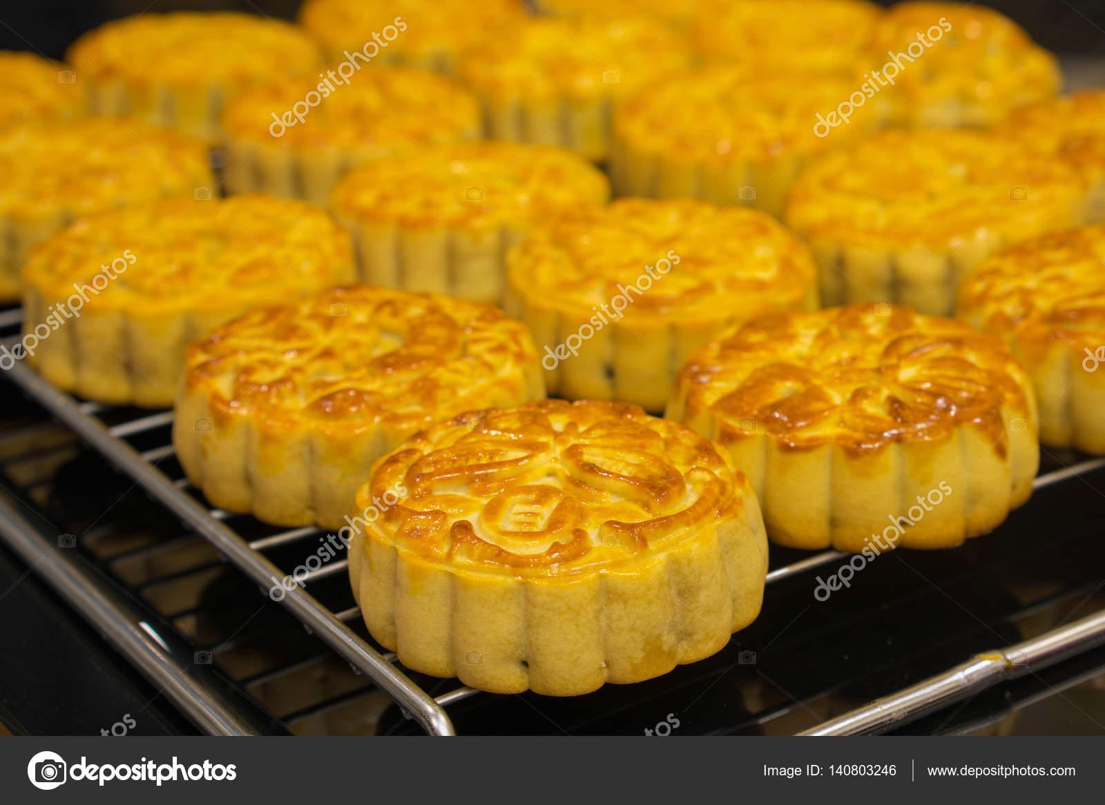 Vietnamese mid autumn festival cake  Mooncakes are