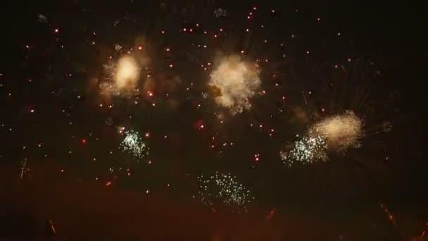 Video ohňostroje v rozlišení 4k