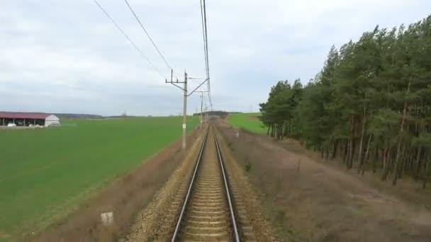Eisenbahnstrecke in 4k
