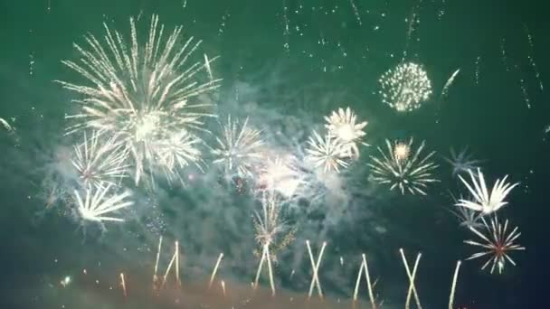 Video von Feuerwerk in 4k