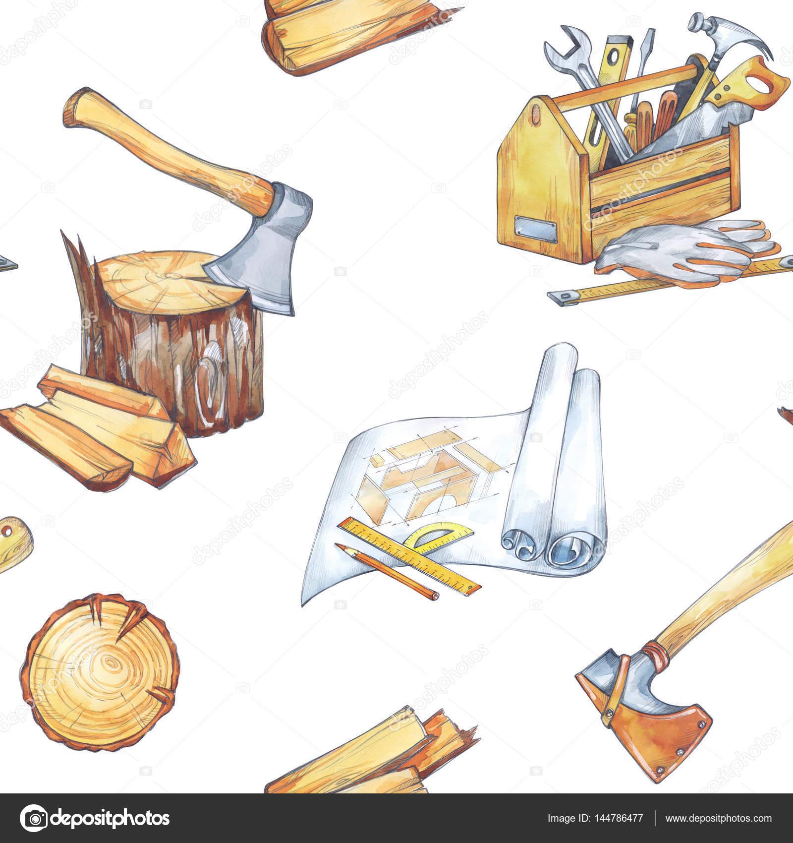 手描きのセット大工道具 ストック写真 Anastezzziagmailcom 144786477