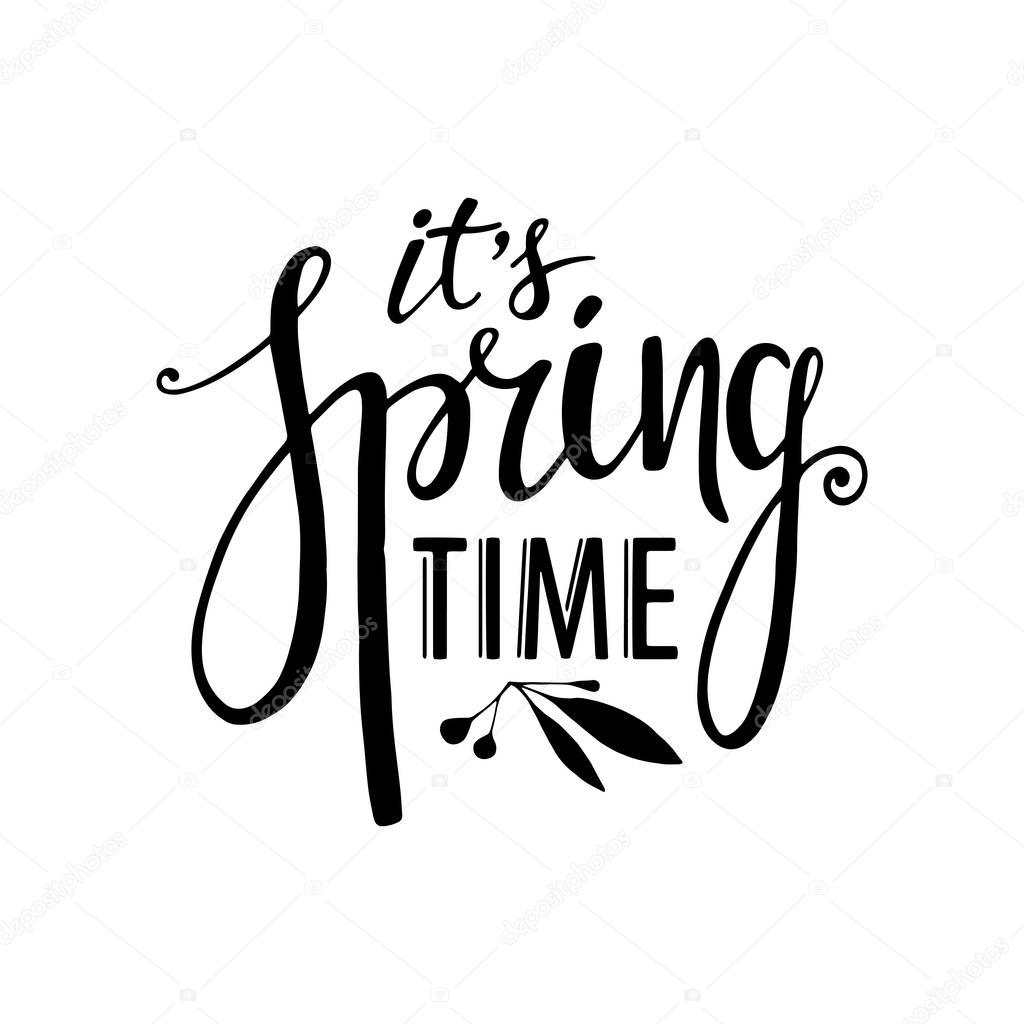 Words Its Spring Time