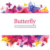 Barevné motýly hranice