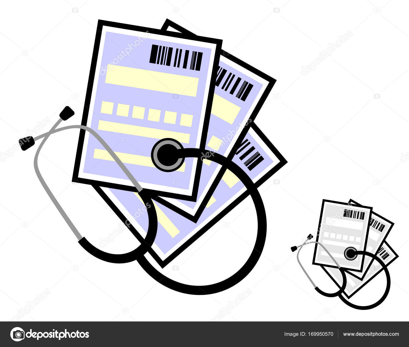 A Stethoscope And Medical Certificates Or Prescriptions To Buy