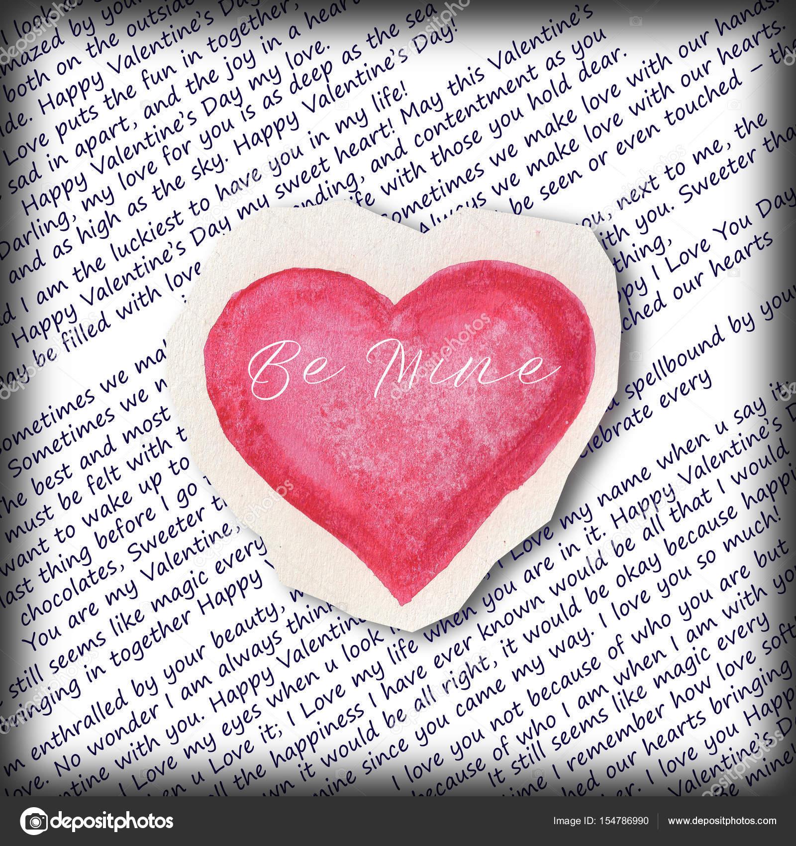alla hjärtans dag hälsning