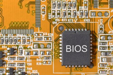 close-up computer bios