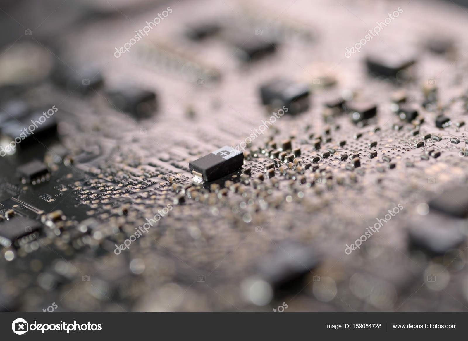 close-up smd capacitor — Stock Photo © seenadee@hotmail com