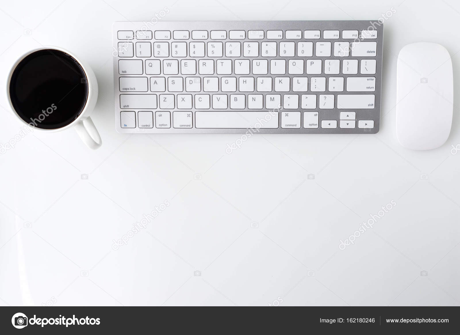 Top office table cup Tablet Modern White Office Desk Top Table With Cup Of Coffee Computer Laptop And Other Depositphotos Modern White Office Desk Top Table With Cup Of Coffee Computer