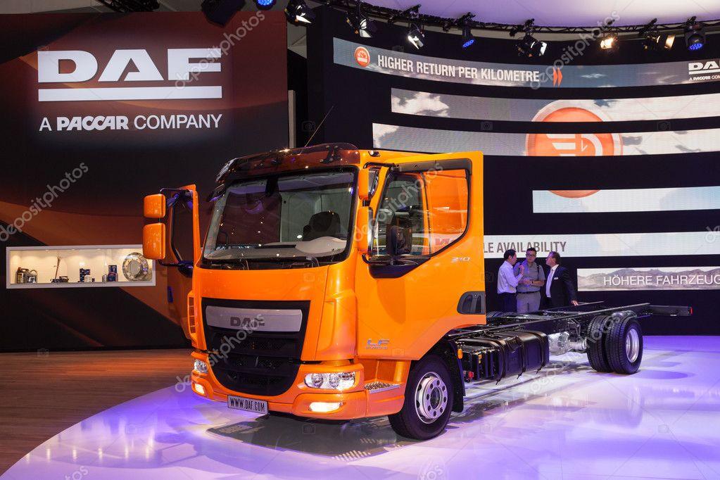 Caminhão DAF se 210 Euro 6 — Fotografia de Stock Editorial