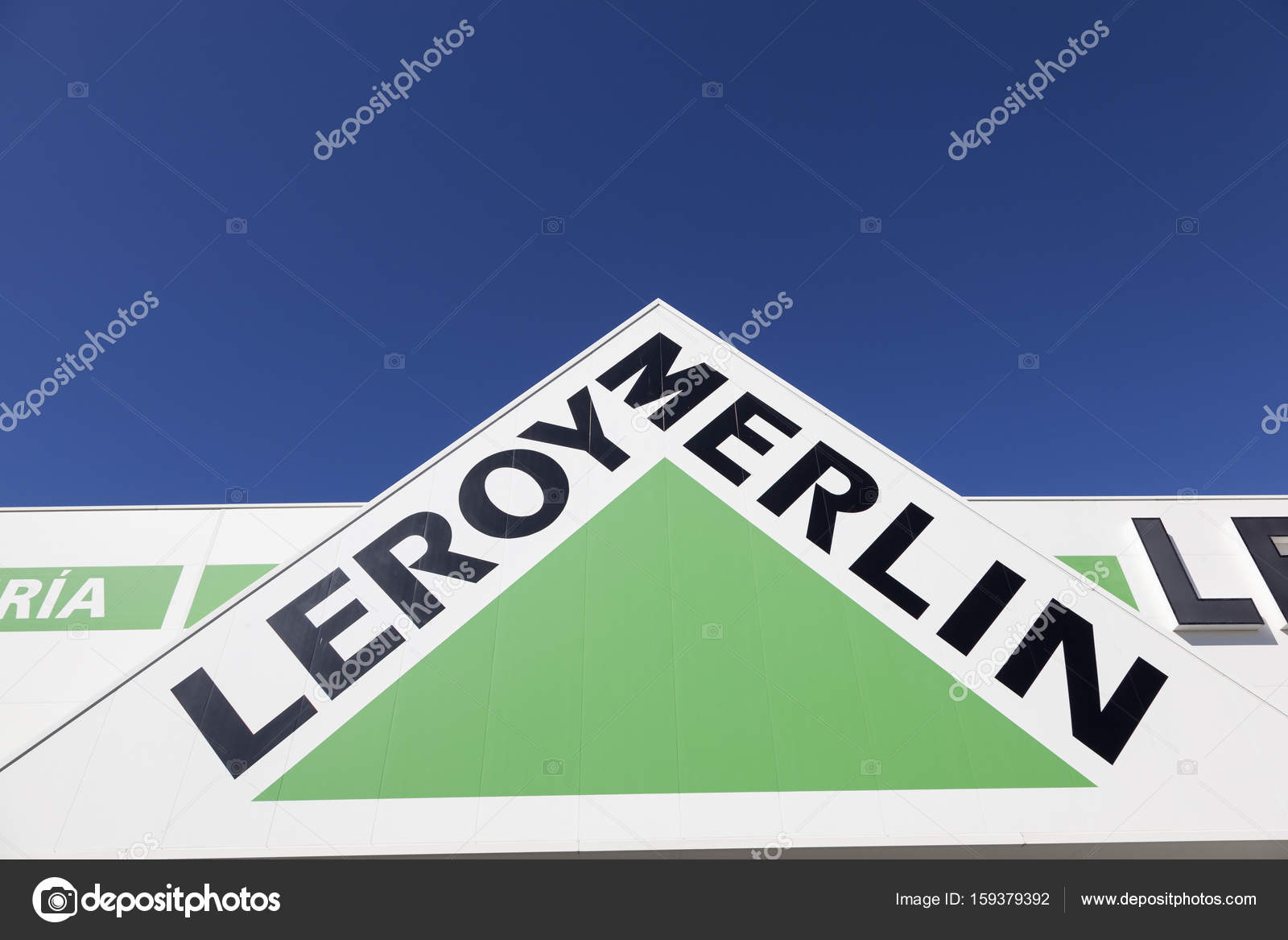 Leroy merlin baumarkt logo u2014 redaktionelles stockfoto © philipus