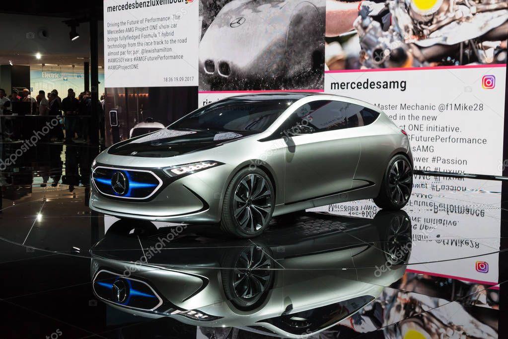 Mercedes Benz EQA Electric Car Concept - Stock Editorial ...