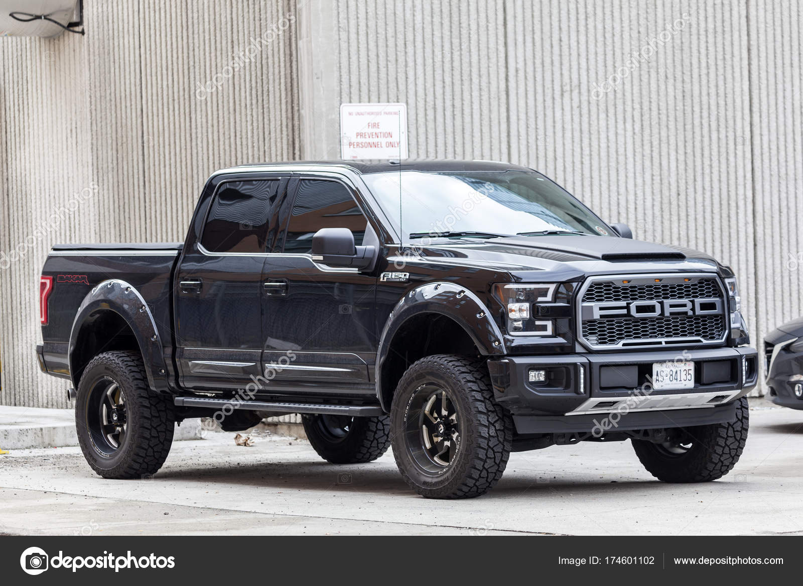 Ford F  Svt Raptor Stock Photo