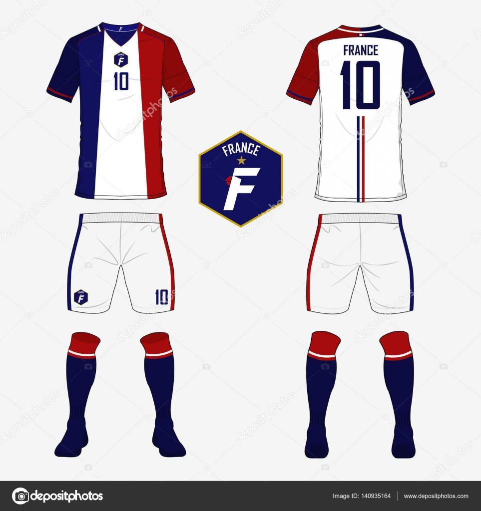 Football Uniform Template Vector Www Imgkid Com The