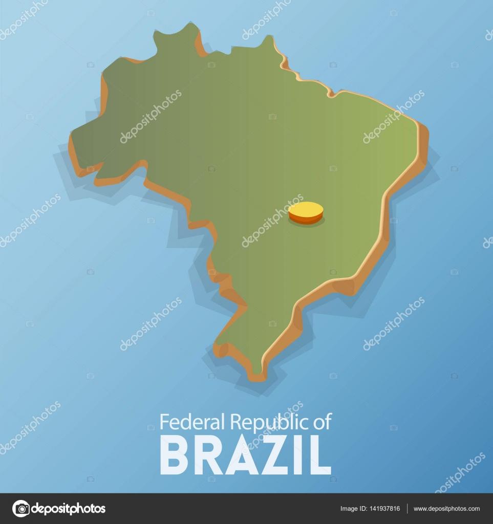 Mapa de brasilia brasil y viajes diseo de plantilla de infografa mapa de brasilia brasil y viajes diseo de plantilla de infografa elemento y los gumiabroncs Image collections