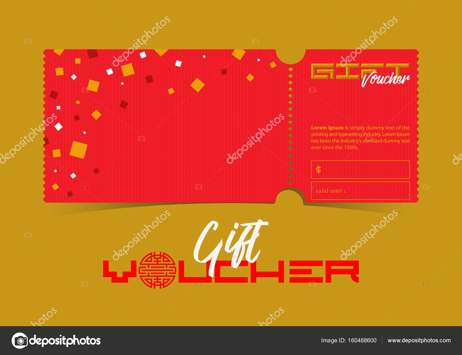 Discount gift vouchers template design in chinese or japanese art discount gift vouchers template design in chinese or japanese art concept special offer or certificate coupons abstract background for celebration party yelopaper Gallery