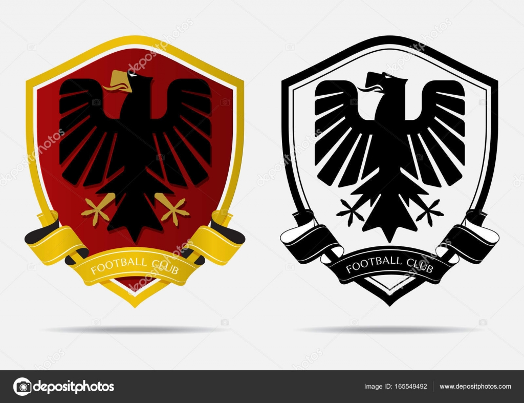 Set Of Soccer Football Badge Logo Design Template. Sport Team Identity.  Minimal Design Of