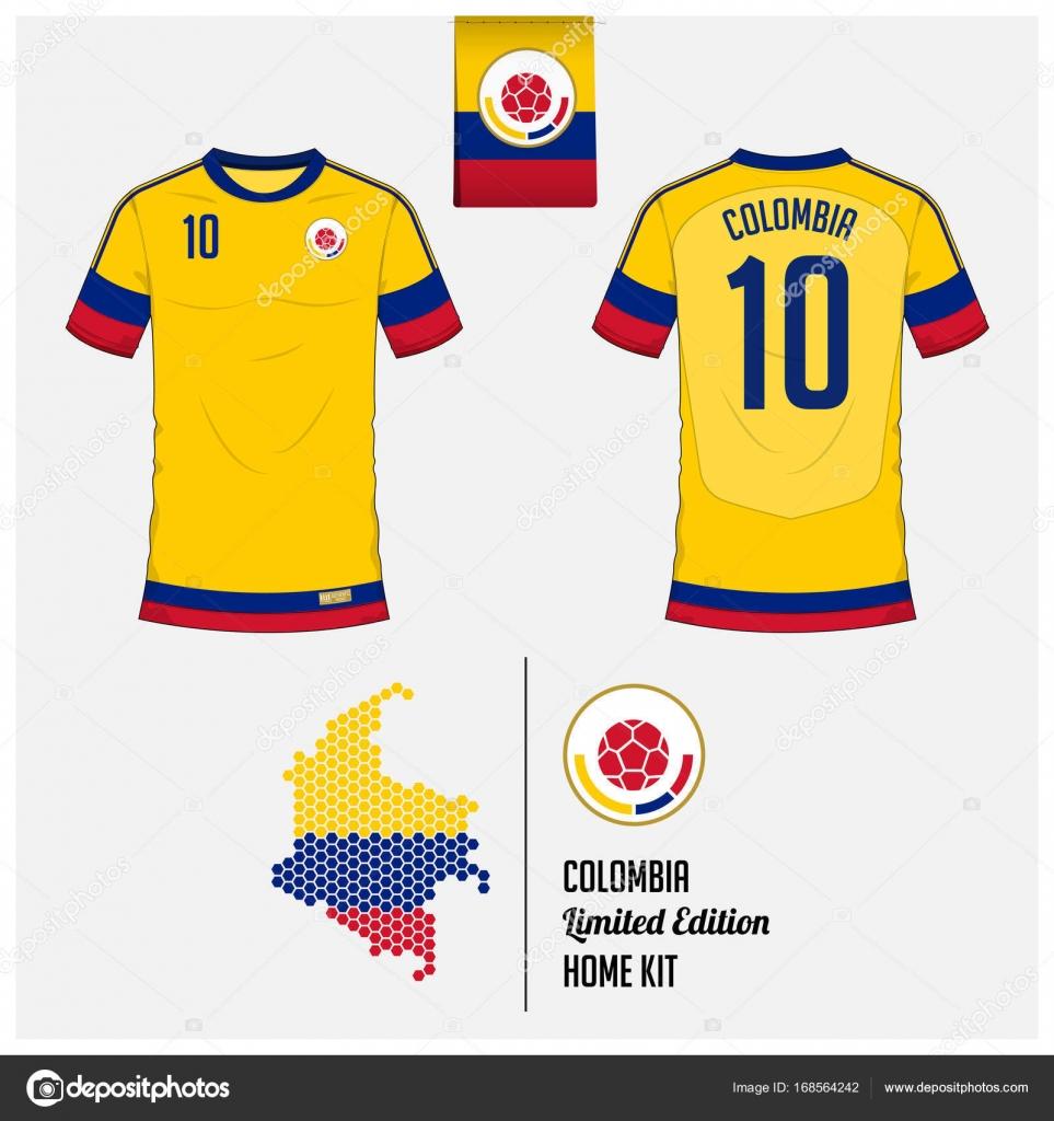 Vectores de stock de Camiseta colombia, ilustraciones de Camiseta ...