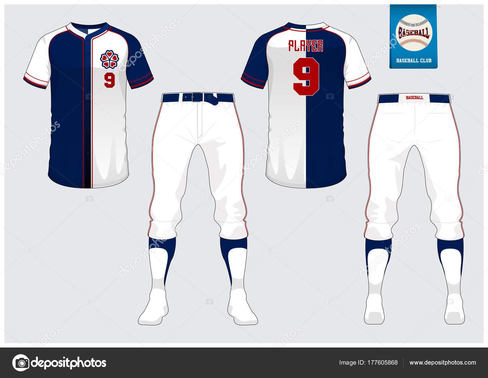 Baseball Jersey Sport Uniform Raglan T Shirt Sport Short Sock