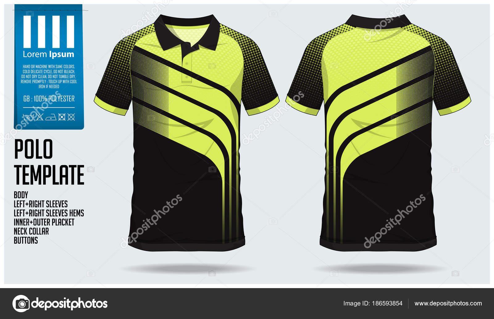 7e831c3e00e77 Modelo de design verde Polo t camisa esporte para camisa de futebol ...