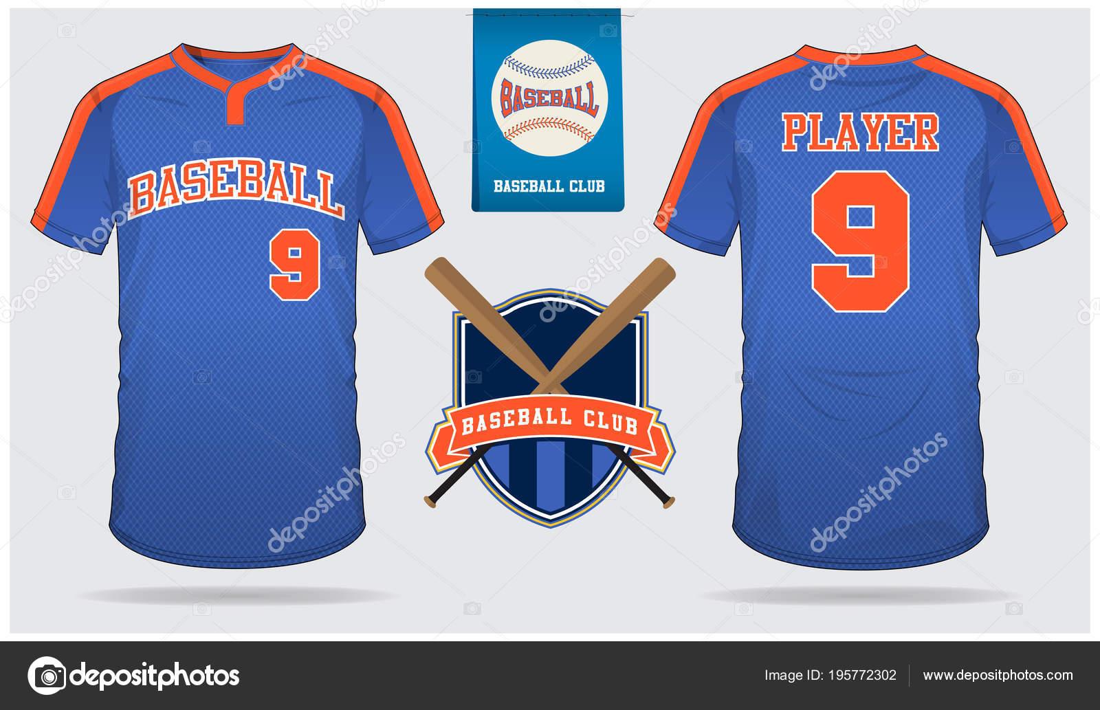 ae0e55824b5 Baseball Jersey Sport Uniform Raglan Shirt Sport Short Sock Template– stock  illustration