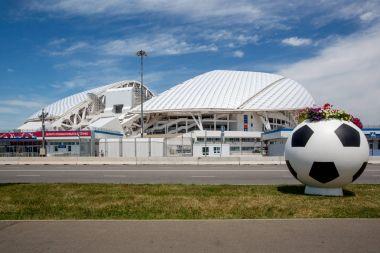 SOCHI, RUSSIA - June 18, 2017: Football stadium