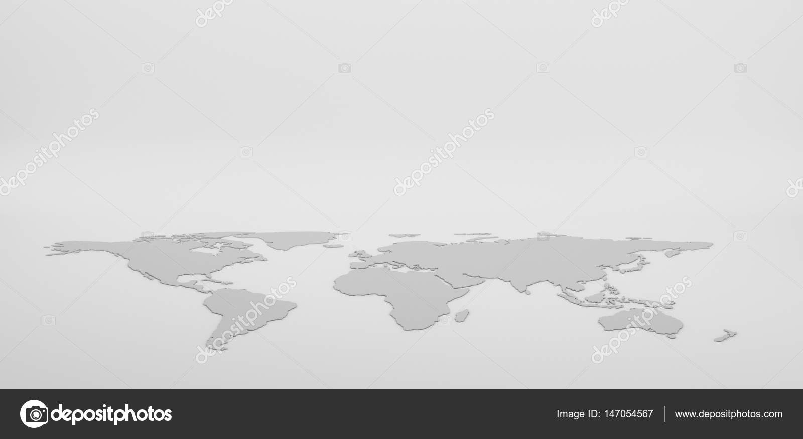 Blank grey world map isolated on white background infographics blank grey world map isolated on white background infographics stock photo gumiabroncs Image collections