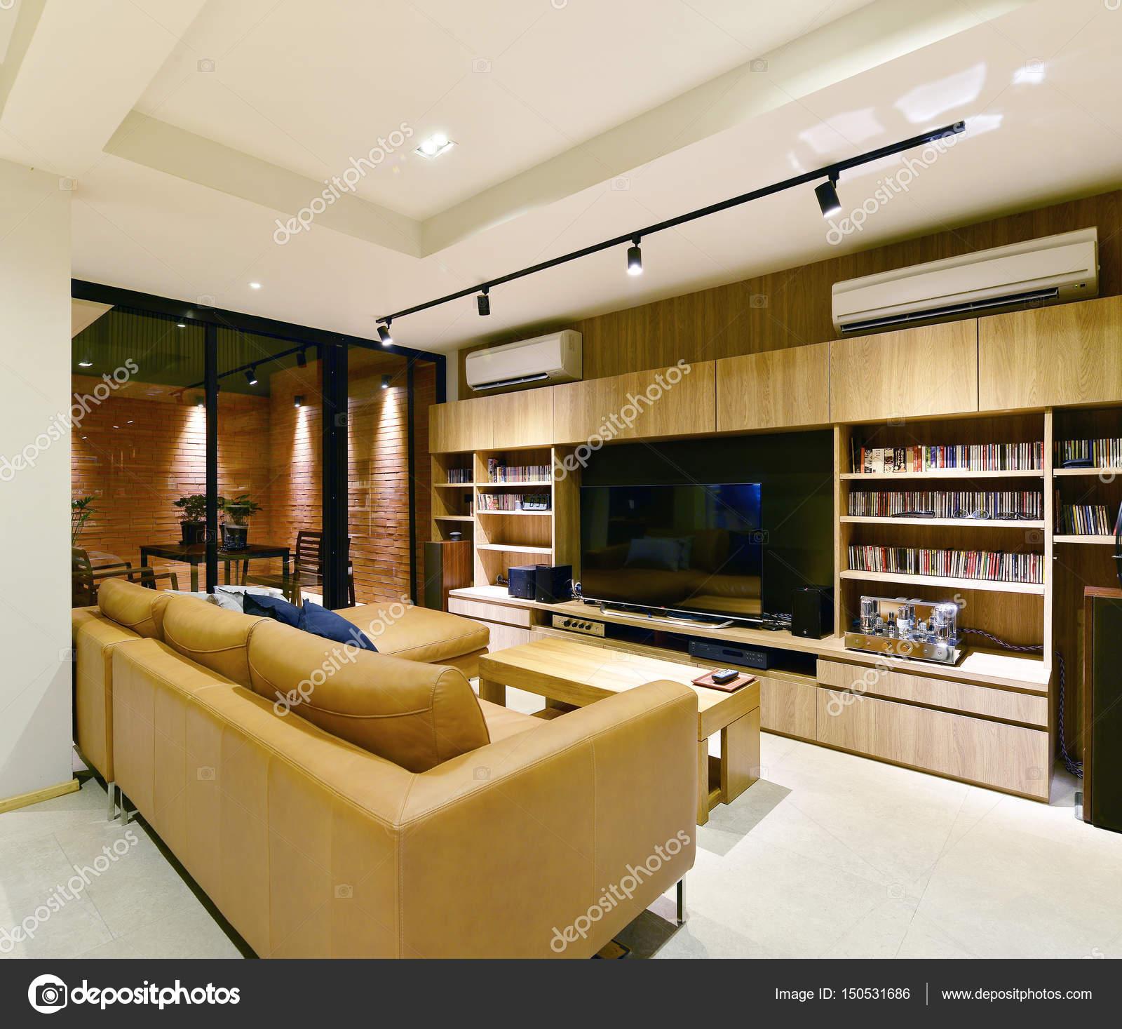 Loft-Stil Luxus modernes Wohnen Interieur und Dekoration, interio ...
