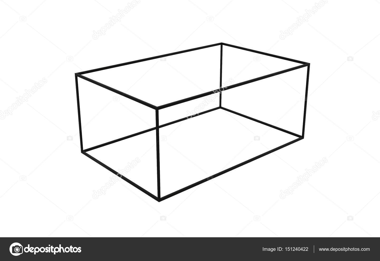 3d black empty box frame isolated on white background, clipping path inside  — photo by tampatra@hotmail com