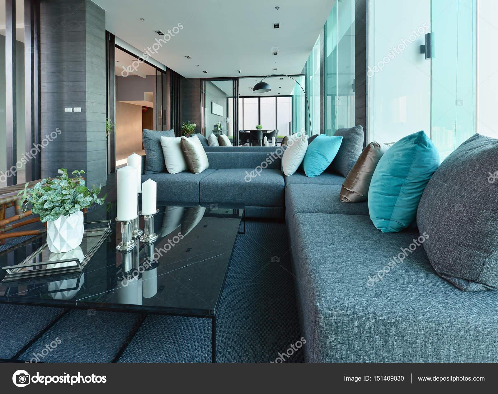 Luxus Modernen Wohnzimmer Einrichtung Und Dekoration