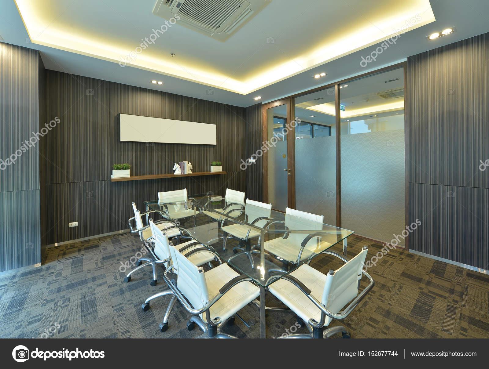 Luxe moderne vergaderzalen kamer interieur en decoratie interieur