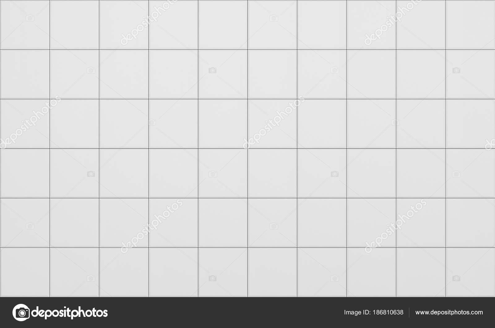 Tile White Flooring Texture Background 3d Render Illustration Stock Photo