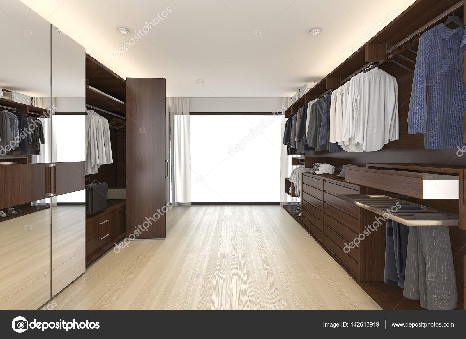 Attraktiv Schöne Kleiderschränke Das Beste Von 3d-rendering Innenarchitektur — Foto Von Dit26978