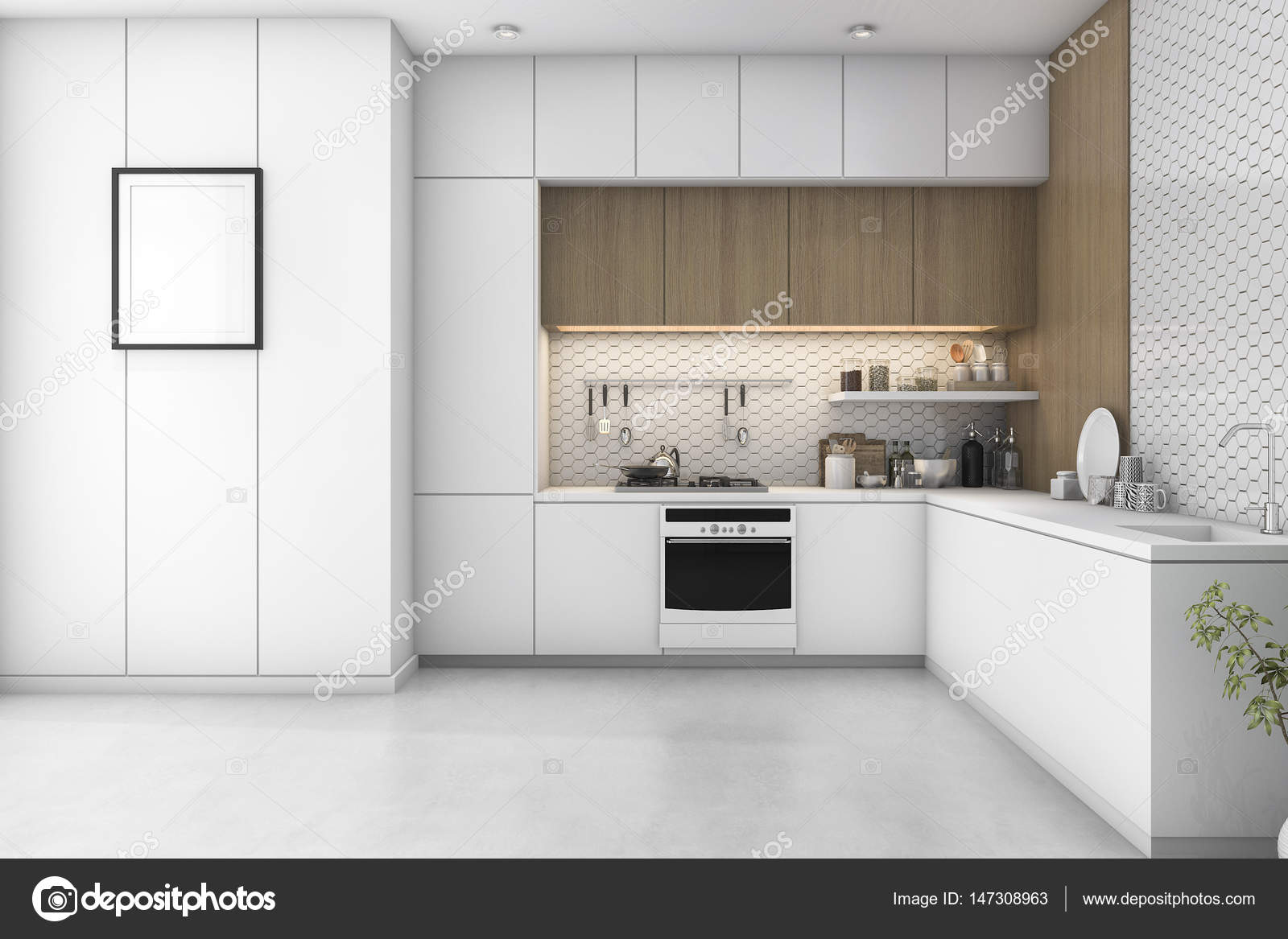 3d Rendering Interior And Exterior Design U2014 Photo By Dit26978