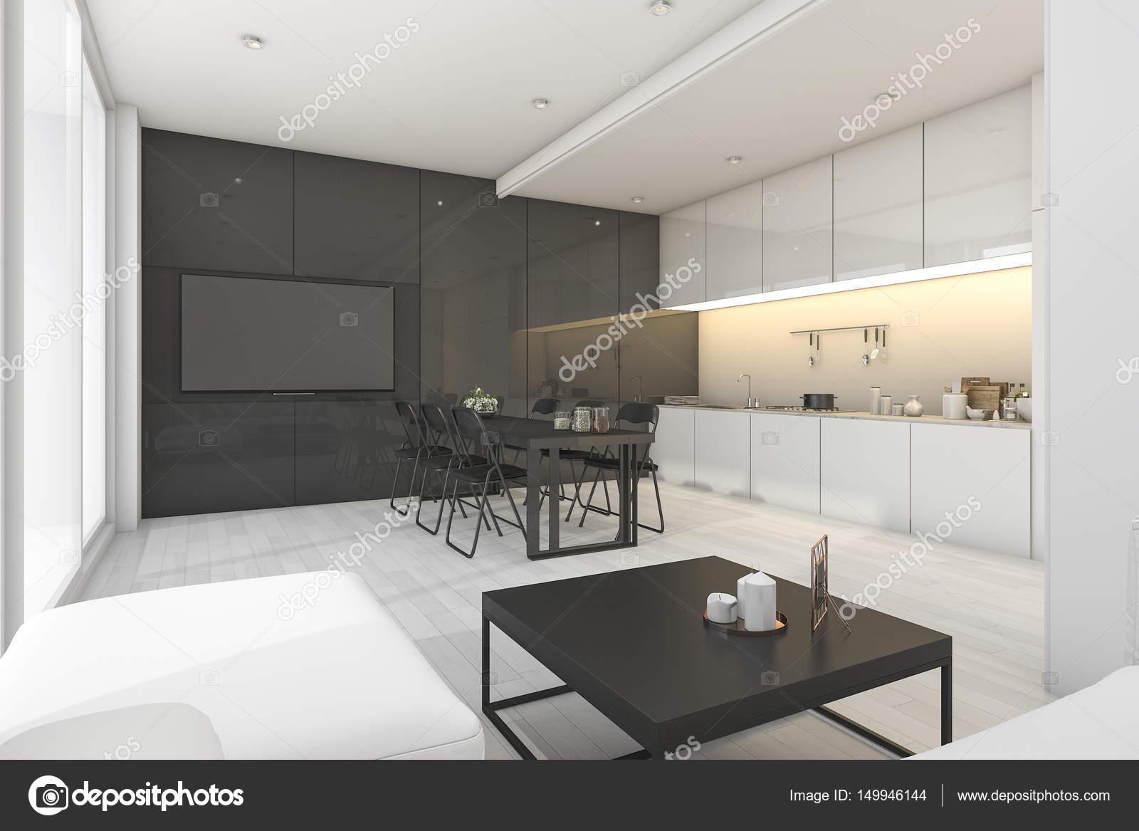 Salotto Moderno Bianco E Nero : Soggiorno moderno u idee per il salotto perfetto u arredo