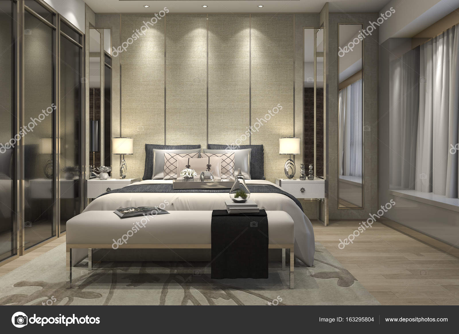3d rendering interieur en exterieur design foto van dit26978