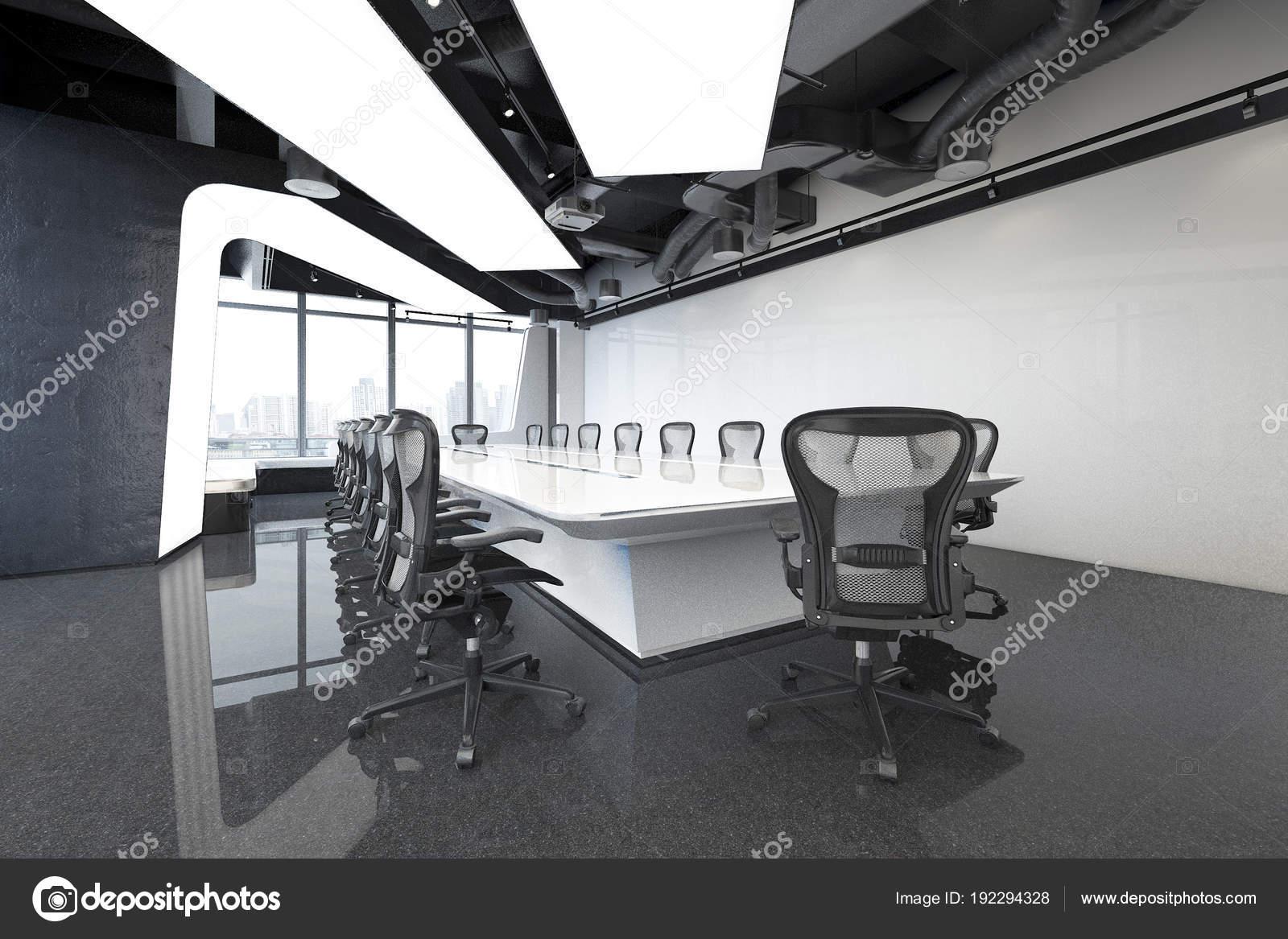 Entreprise rendu salles sur immeuble bureaux grande hauteur