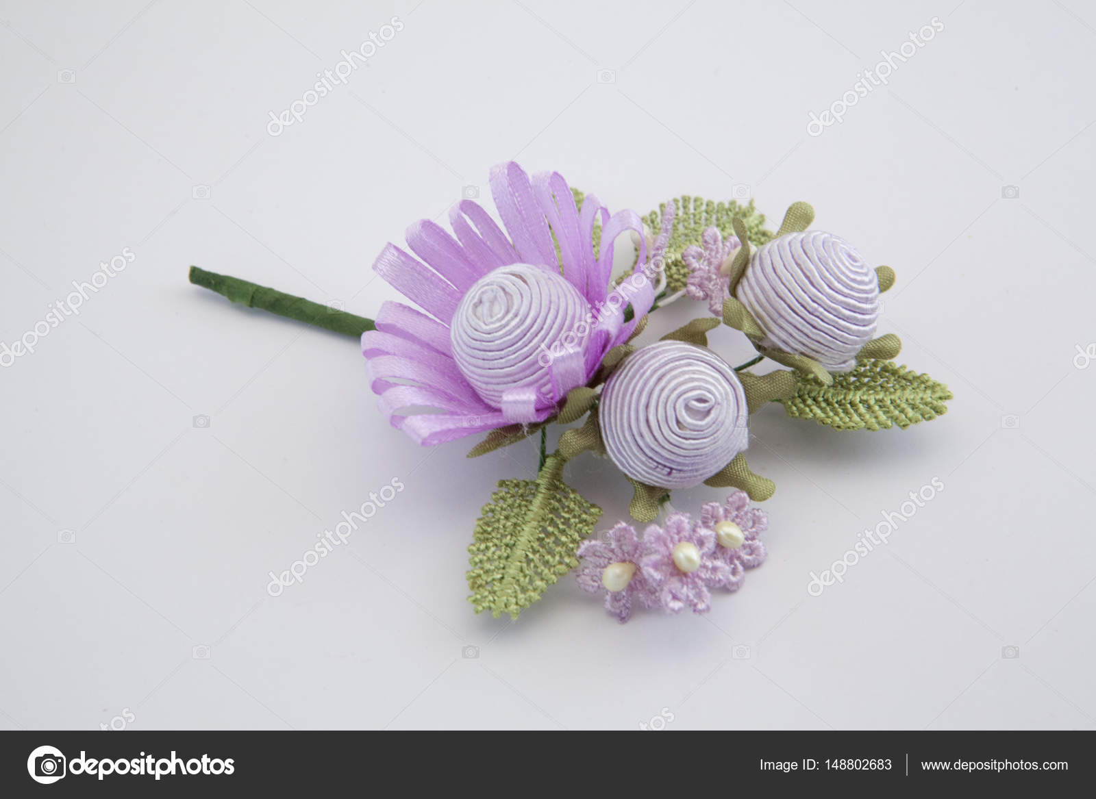 Artificial decorative tiny bouquet — Stock Photo © ioanna_fotiadou ...