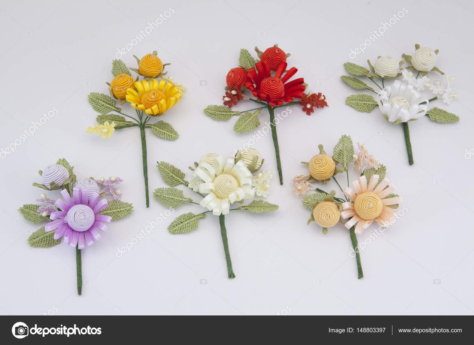 Artificial decorative tiny flowers — Stock Photo © ioanna_fotiadou ...