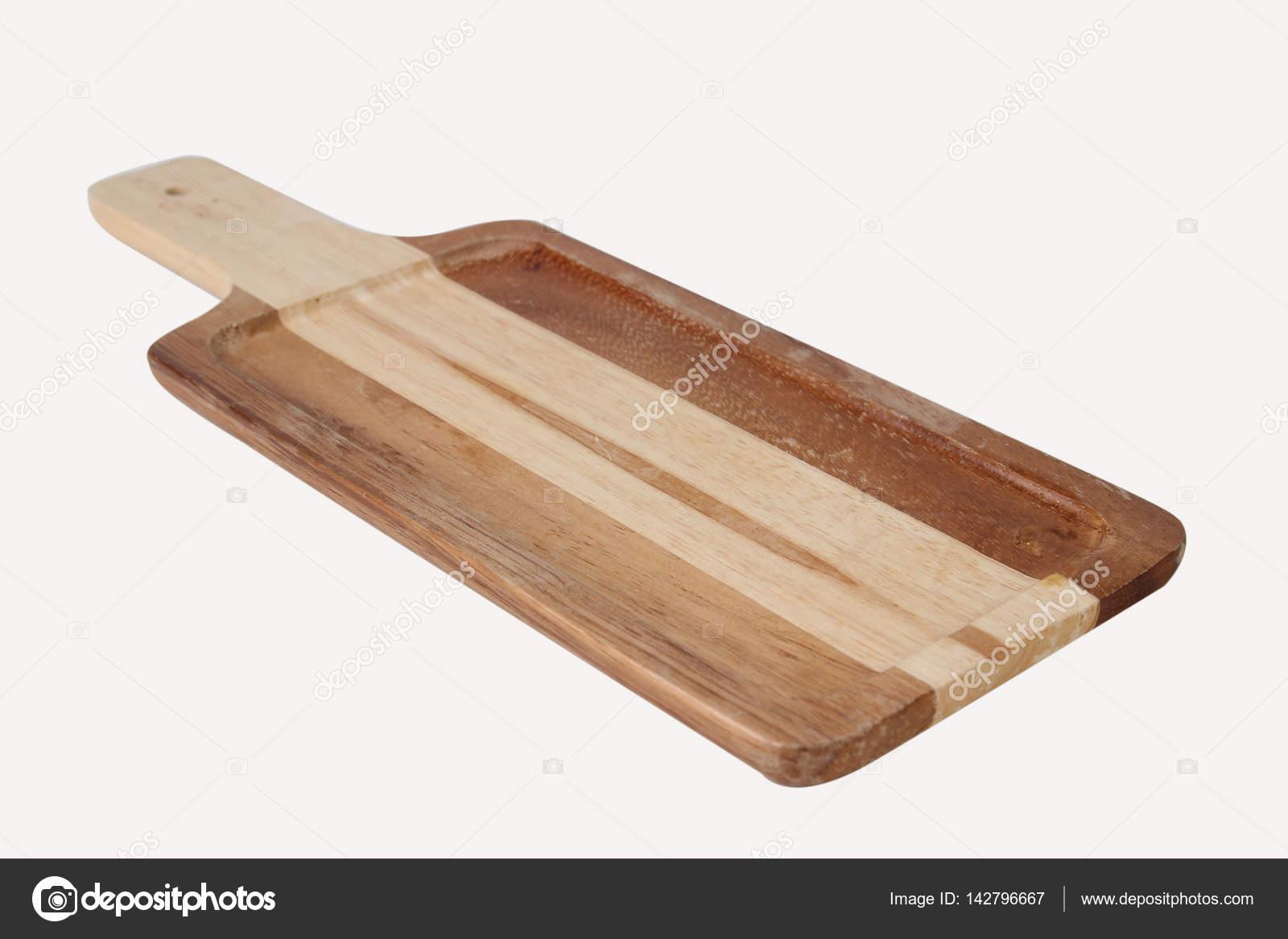 holz küche werkzeug auf weißem hintergrund zu isolieren — stockfoto