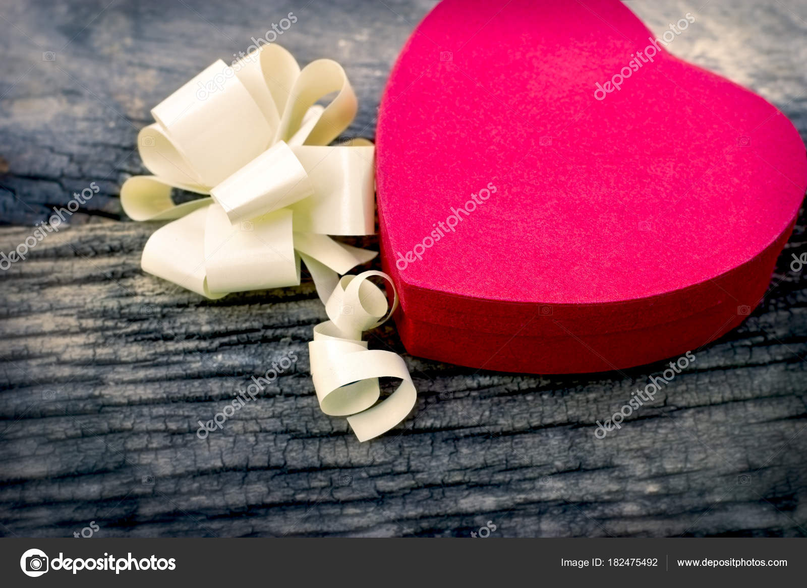 Valentine Day Box Chocolates Gift Lovers Her Girl Lady Stock Photo