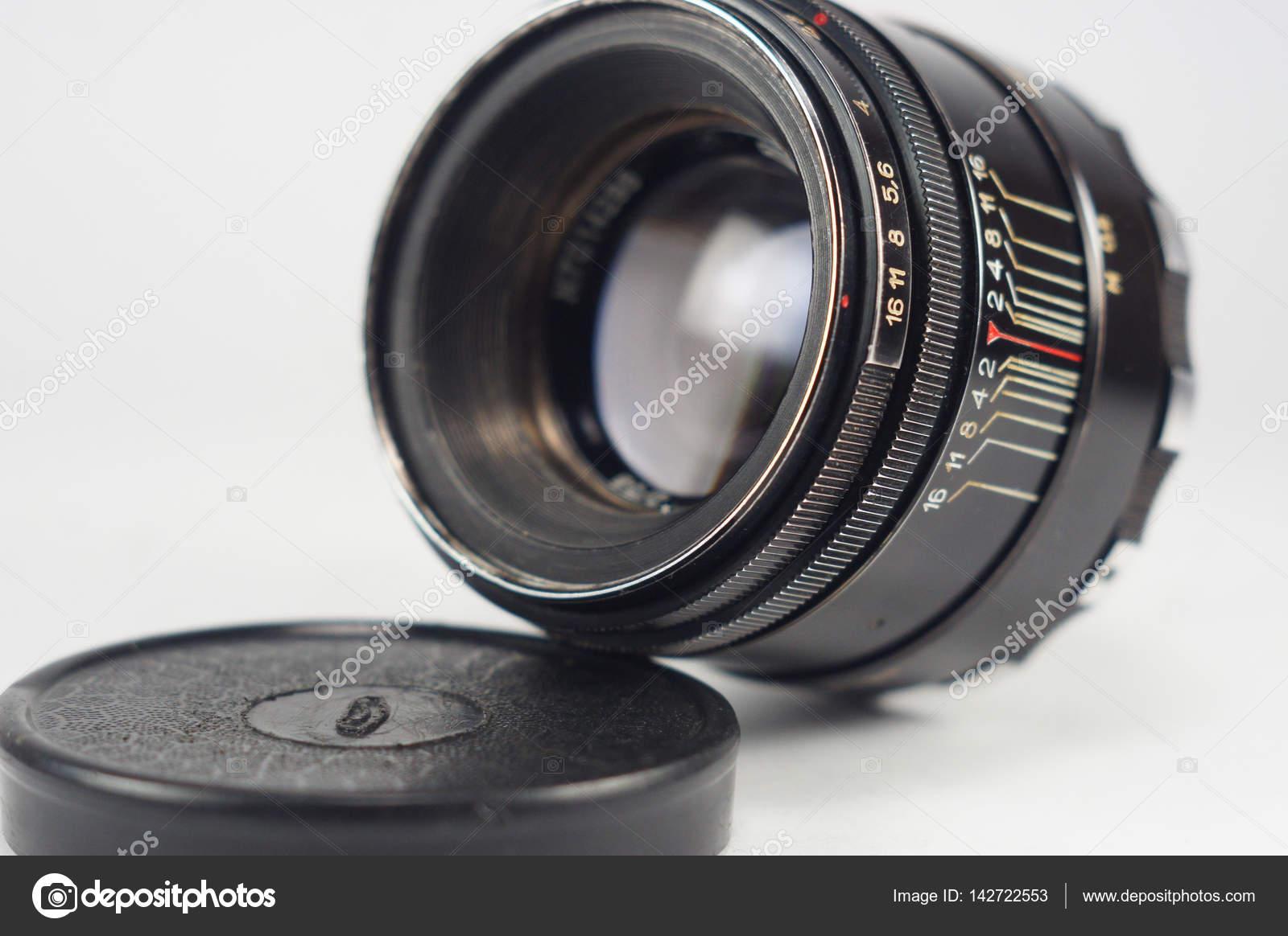 カメラのレンズをヘリオス 44 2 ストック写真 mutlyk 142722553