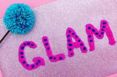 Letters Glam Minimal Design fashion art