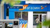 OMSK, Russia July 6, 2010: Gas stations Gazpromneft. Design elements of corporate identity