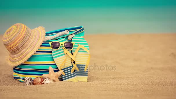 Letní dovolená a cestování koncept